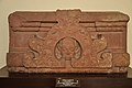 Architectural Slab with Gavaksha Relief with Female Face - Circa 5th Century CE - Govind Dev Mandir - Vrindaban - ACCN 51-3607 - Government Museum - Mathura 2013-02-23 5491.JPG