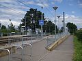 Arena tram stop southeastern entrance.JPG