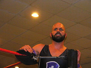 Ares (wrestler) - Ares in October 2010