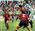 Argentina v espana rogel goal.jpg