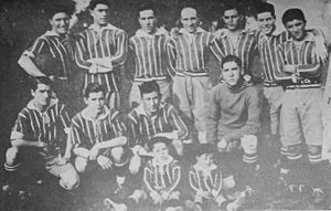 Argentino de Banfield - The squad in 1927.