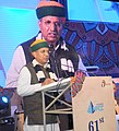 Arjun Ram Meghwal addressing at the 61st Annual Day of National Projects Construction Corporation Ltd. (NPCC), A PSU under the Ministry of WR, RD & GR, in New Delhi.jpg