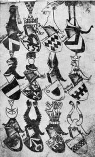 Leliwa coat of arms - Image: Armorial bellenville folio 67v
