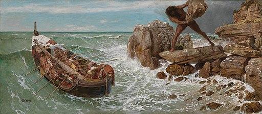 Arnold Böcklin - Odysseus und Polyphemus (1896)