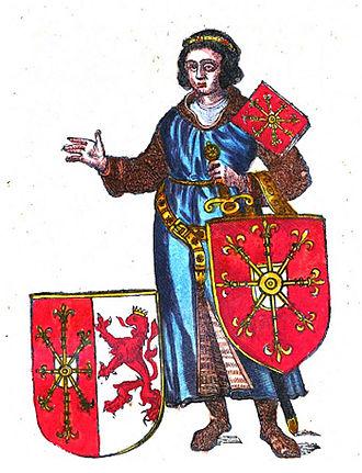 Arnold I, Count of Cleves - Image: Arnold I van Kleef