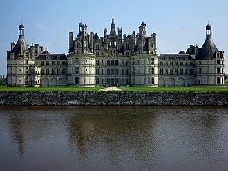 Loir-et-Cher - Image: Arrière du Château de Chambord (41)