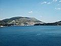 Arribada a Dubrovnik des de la mar.JPG