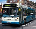 Arriva bus 4522 Volvo B10BLE Alexander ALX300 W298 PPT in Newcastle 9 May 2009.jpg
