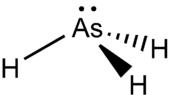 Struktur von Arsenwasserstoff