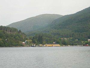 Aure, Norway - View of Arasvika in Aure