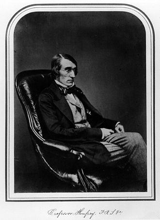 Arthur Henfrey (botanist) - Arthur Henfrey, 1855 photograph