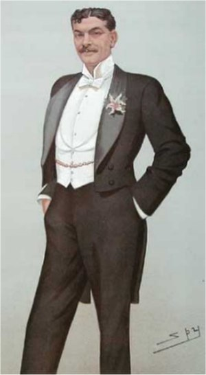 Arthur Bourchier - Bourchier by Spy for Vanity Fair, 1896