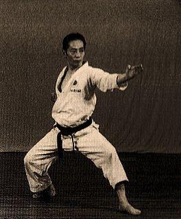 Tetsuhiko Asai Japanese master of Shotokan karate