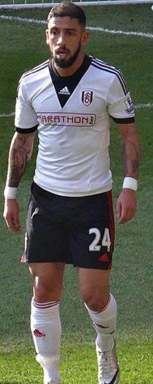 Ashkan Dejagah - Dejagah playing for Fulham