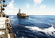 Astern Replenishment At Sea