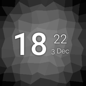 AsteroidOS - Image: Asteroid OS Watchface default