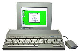 Atari ST - Image: Atari 1040STf