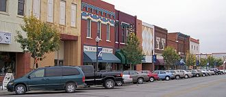 Atchison, Kansas - Commercial Street in downtown Atchison (2006)
