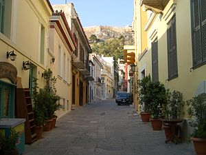Plaka - Typical street