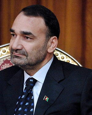 Warlord - Atta Muhammad Nur, a former regional warlord, is now the governor of Balkh Province in Afghanistan.