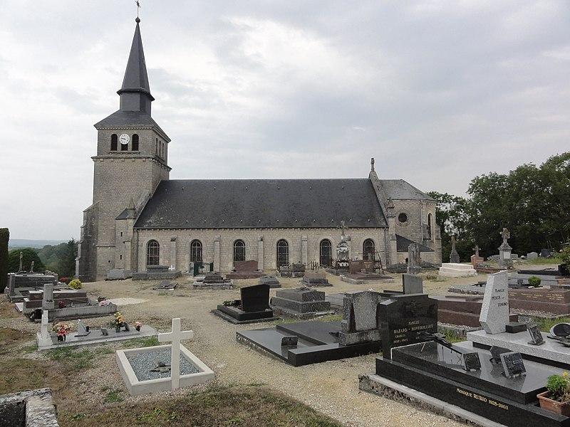 Aubréville (Meuse) église