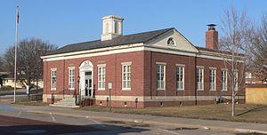 U.S. Route 136 in Nebraska - Auburn, Nebraska Post Office