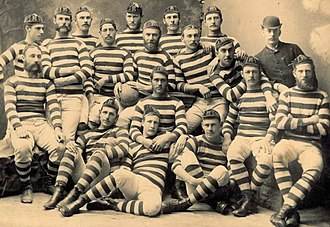 Joe Warbrick - Image: Auckland rugby union touring team 1883 cropped