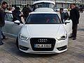 Audi A3 8V Ambition design selection capriorange 2.0 TDI Gletscherweiß Front.JPG