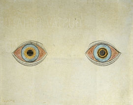 My eyes at the moment of the apparitions - 아우구스트 나터러.