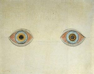 Meine Augen zur Zeit der Erscheinungen