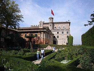 Villa del Priorato di Malta - The villa and garden
