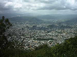 Teleférico de Caracas - View from Avila