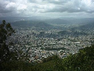 Teleférico de Caracas - View from Avila