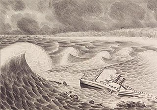 1837 Racers hurricane Category 3 Atlantic hurricane in 1837