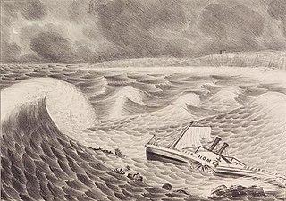 <i>Racer</i>s hurricane Category 3 Atlantic hurricane in 1837