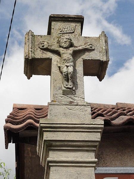 Azerailles (M-et-M) croix de chemin