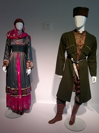 Sherwani - Azerbaijani national dress from Shirvan region which may also be a source of Sherwani