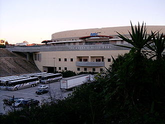 San Diego State Aztecs football - Aztec Bowl (historic site as it exists today) is now the site of Viejas Arena
