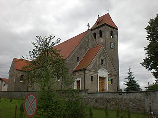 Borowy Młyn, Bytów County Village in Pomeranian Voivodeship, Poland