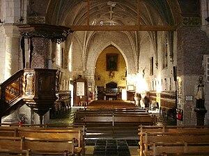 Amettes - Church interior