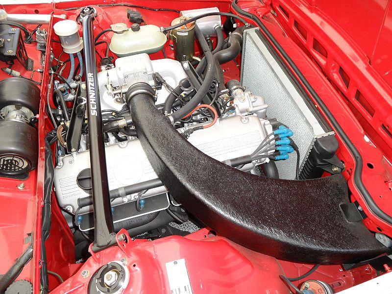 File Bmw E24 635 Csi Grp A Engine Bay Exhaust Jpg