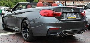 BMW M4 - BMW M4 convertible