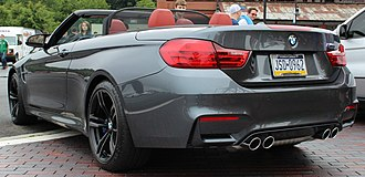 BMW 4 Series (F32) - M4 Convertible (F83)