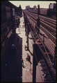 BROOKLYN'S BUSHWICK AVENUE SEEN FROM AN ELEVATED TRAIN PLATFORM IN NEW YORK CITY. THE INNER CITY TODAY IS AN ABSOLUTE... - NARA - 555925.tif