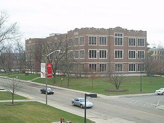 John E. Worthen - Burkhardt Building, BSU