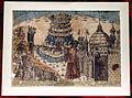 Baccio baldini, dante e firenze, post 1471, incisione acquarellata, strozzi 148.JPG