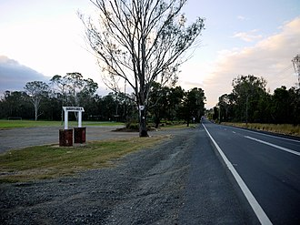 Western Sydney Airport - Badgerys Creek Road and Parkland, within the proposed airport site.