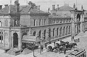 Bonn Hauptbahnhof - Bonn station in 1900