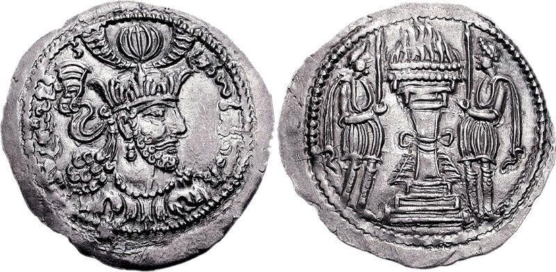Bahram of Gandhara king of the Kushano-Sasanians Circa CE 350-365