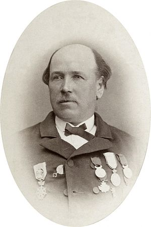 Charles Baillairgé - Charles Baillairgé in the 1870s